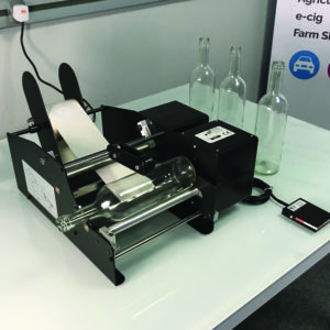 Bottle Matic II label applicator